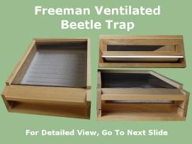 Freeman Ventilated Beetle Trap